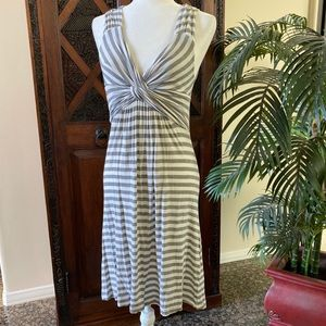 Boston Proper Striped Sleeveless Dress Size XS